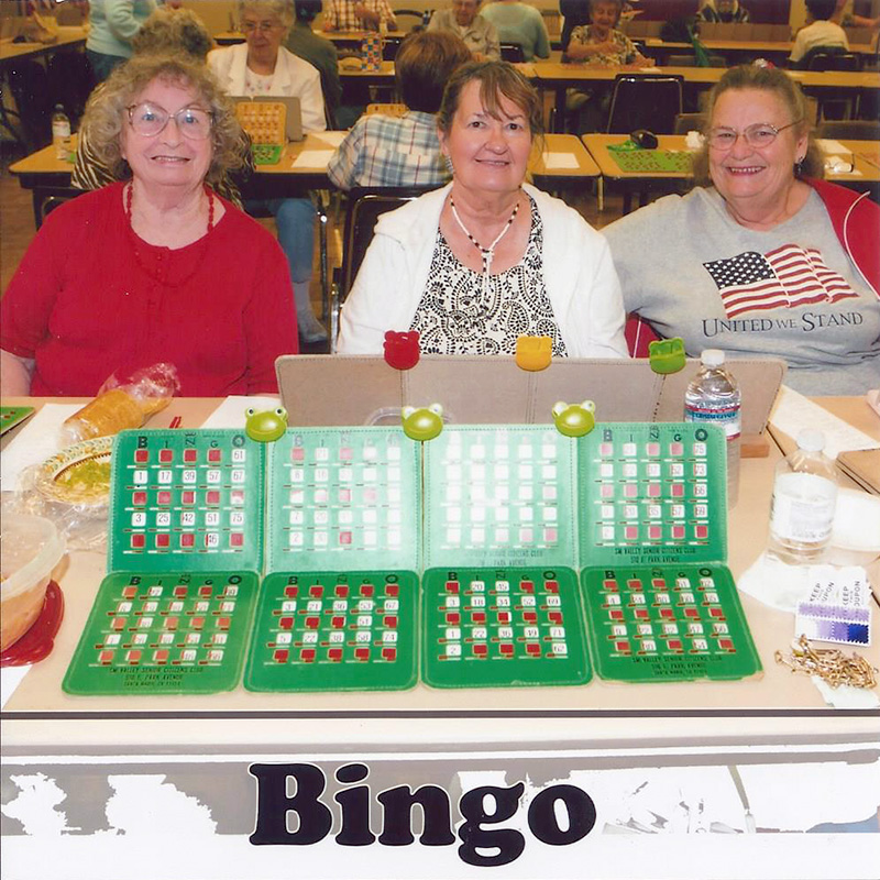 Bingo @ Elwin Mussell Center