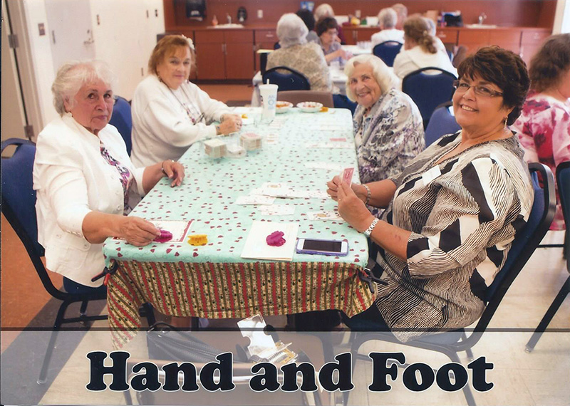 Hand & Foot (regular) @ Elwin Mussell Center