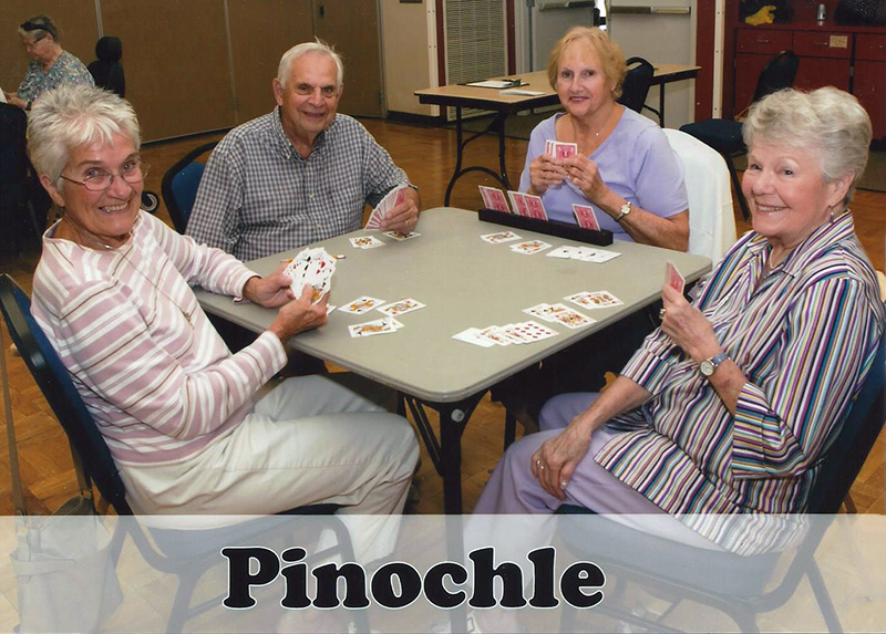 Pinochle @ Elwin Mussell Center