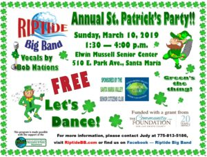 St Patrick's Day Dance
