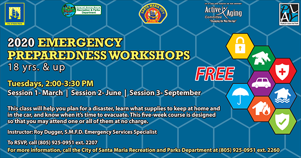 2020 Emergency Preparedness Workshops