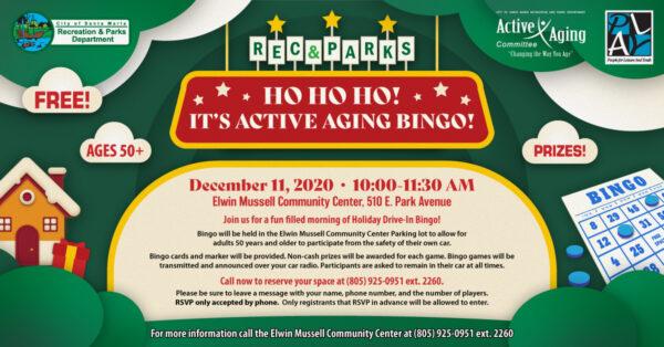 ACTIVE AGING BINGO!